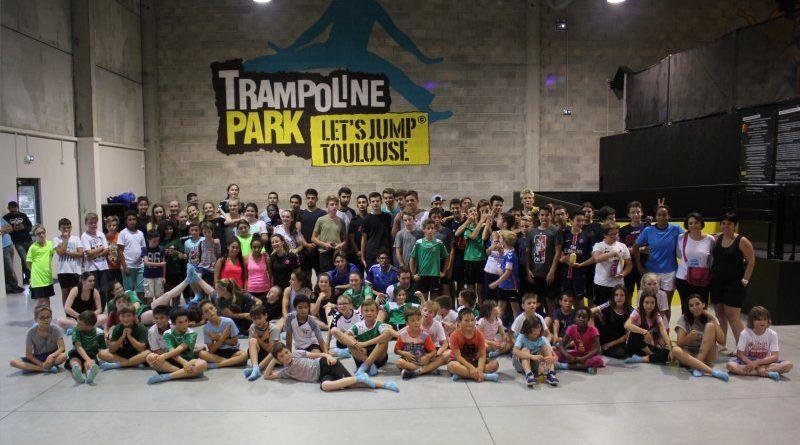 Sortie au Trampoline Park