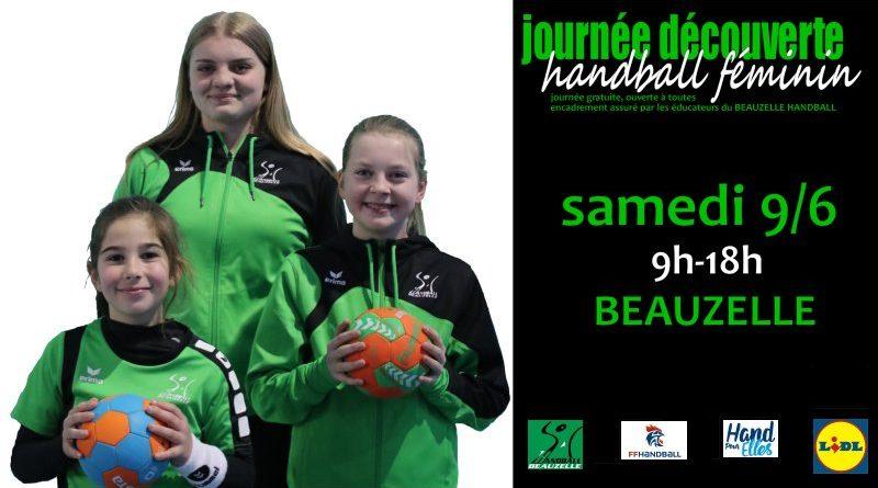 Journée découverte handball féminin
